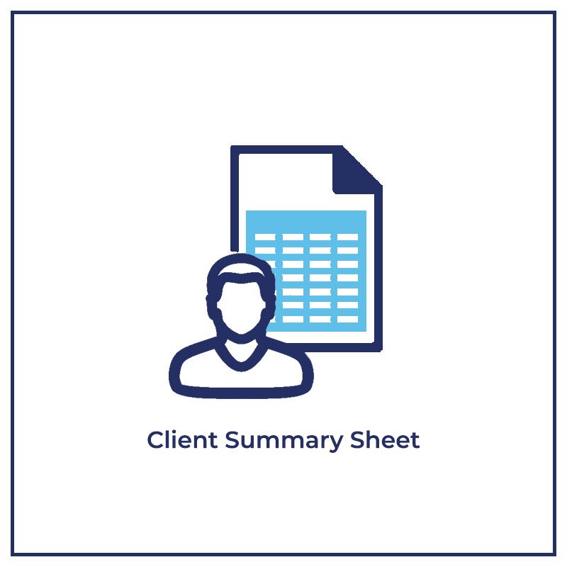 Client Summary Sheet