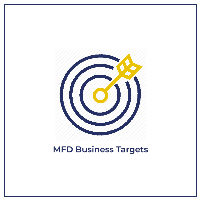 MFD Business Targets